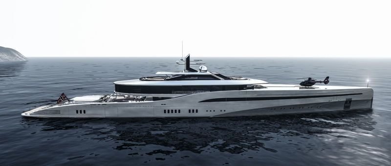 YachtXTender Support Vessel To Yachts Between M And M - Giga yacht takes luxury oil tanker sized extreme