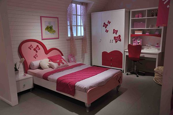 20 Super Fab Heart Shaped Bed Designs Worth Falling In Love With Home Design Lover Cheap Bedroom Ideas Beautiful Bedroom Designs Girls Bedroom Sets