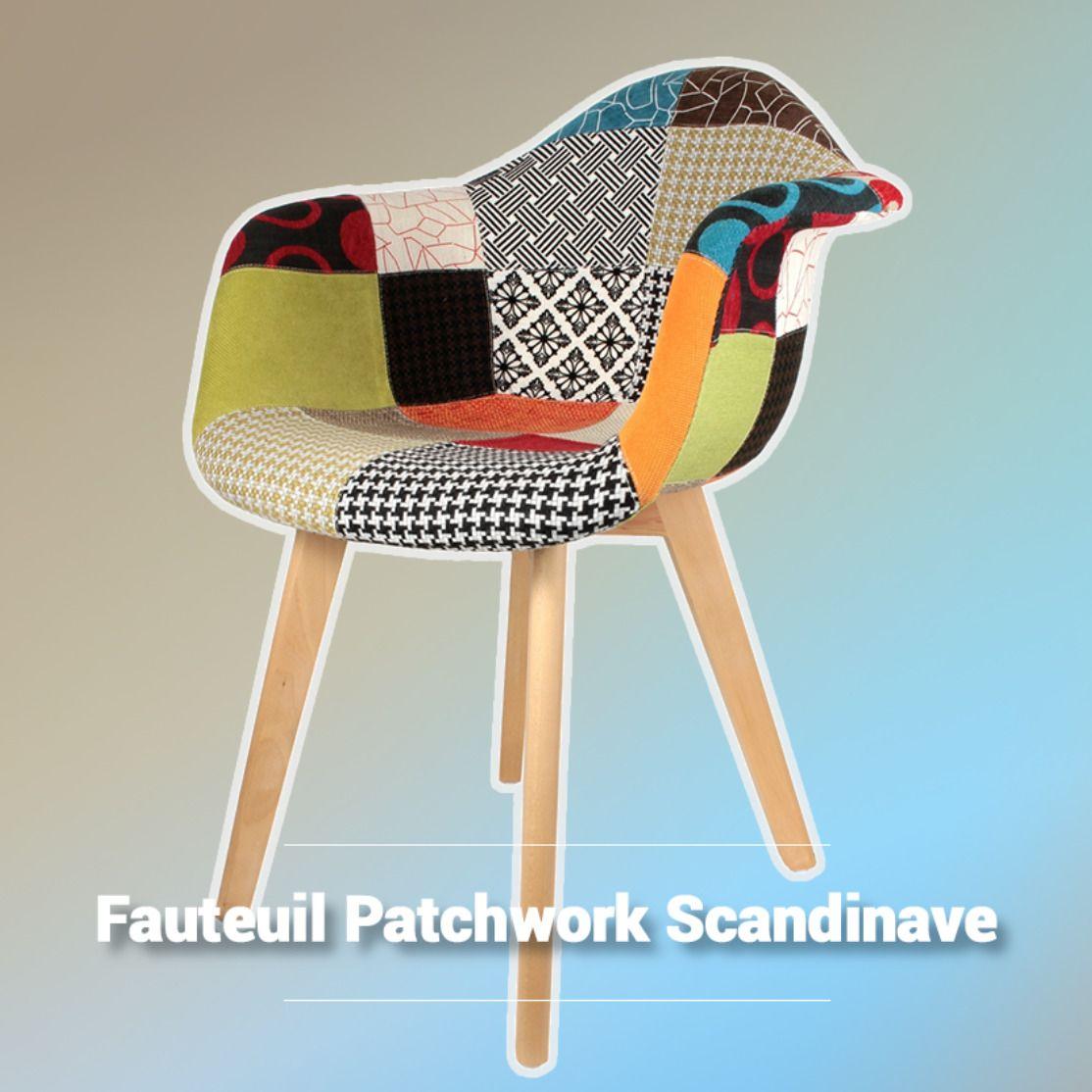 Fauteuil Patchwork Scandinave La Foir Fouille Fauteuil Scandinave Fauteuil Mobilier De Salon