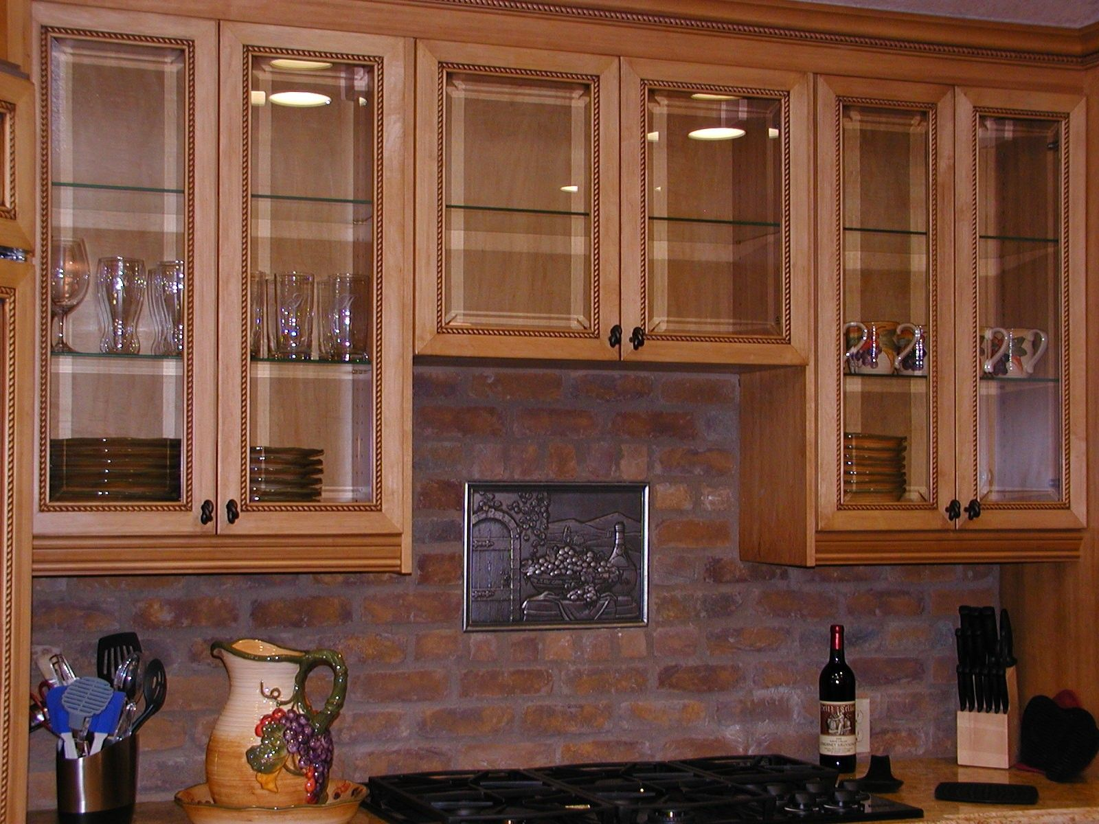 Kitchen : Decorating Ideas For Above Kitchen Cabinets 3 Kitchen ...