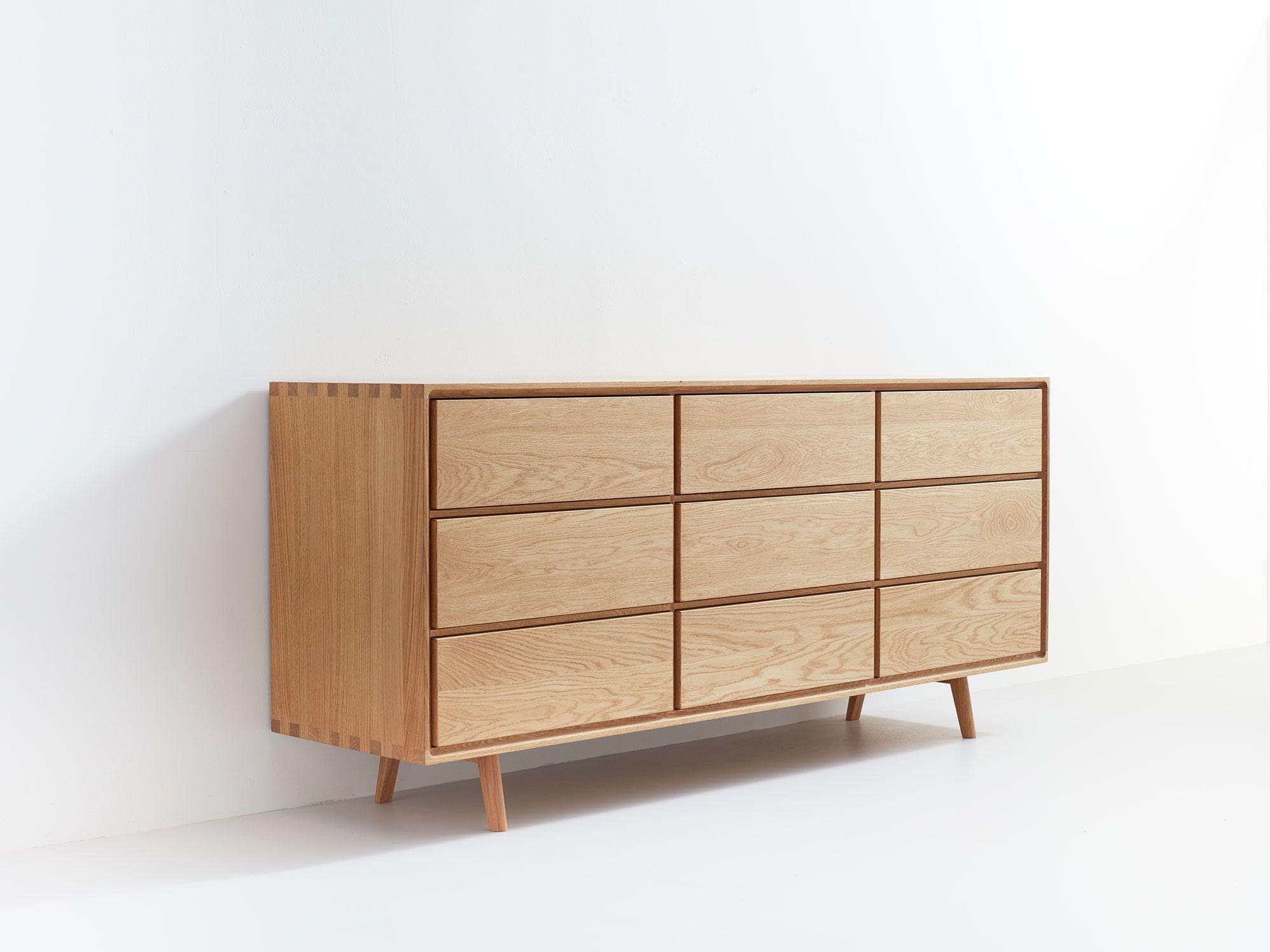 Sideboard Tesoro Mit 9 Laden B 178 X T 45 X H 79 Cm Mobel Wohnzimmer Holzleisten Und Wohnzimmer Sideboard