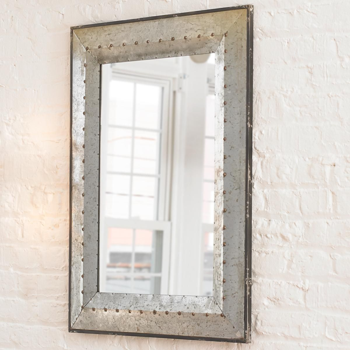 Metal Industrial Rivet Mirror