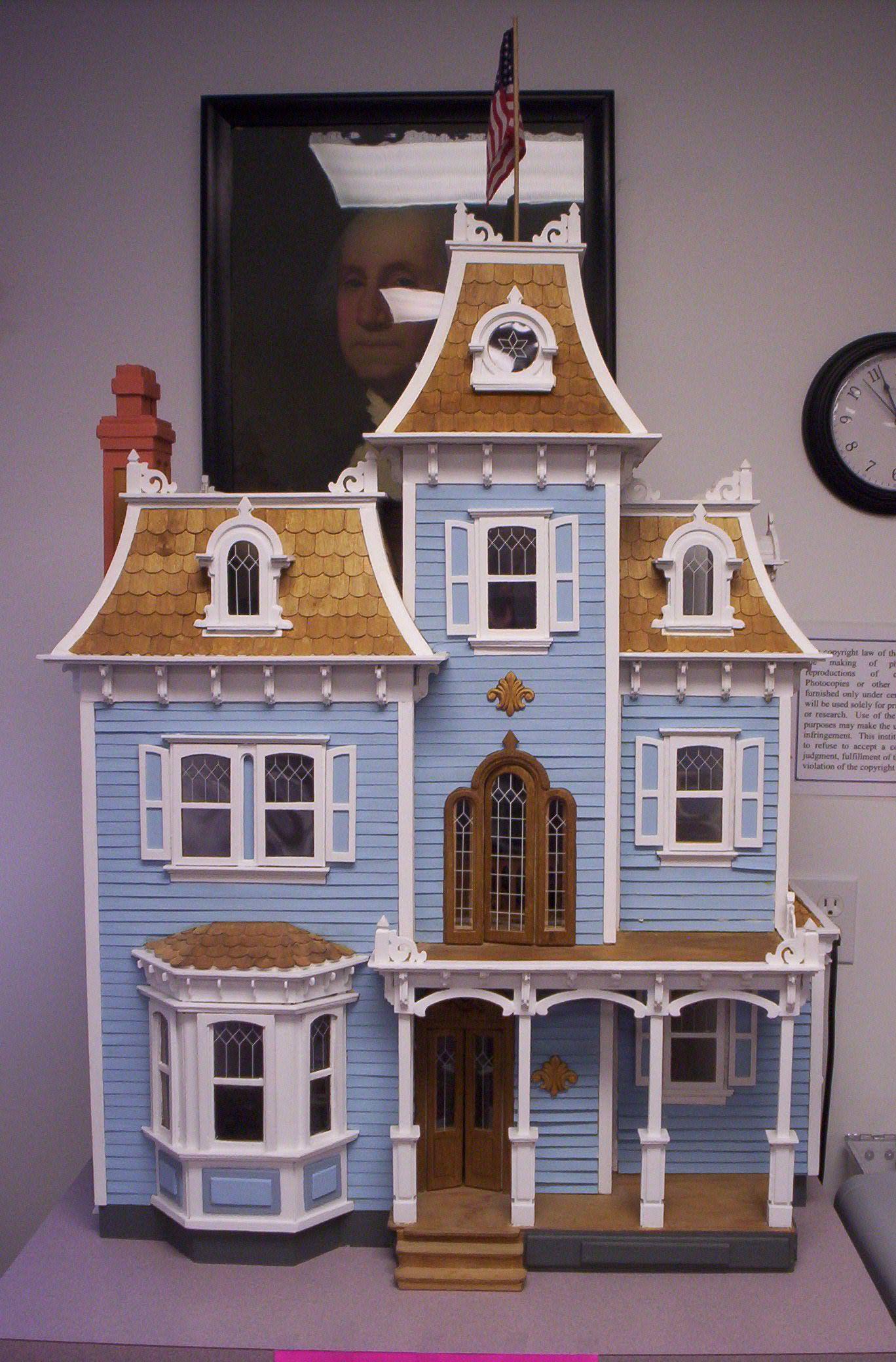 Victorian Dollhouses - #victoriandollhouse