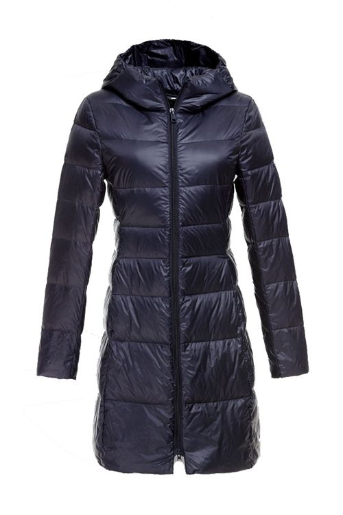 Womens Winter Jackets And Coats Ultra Light Duck Down Jacket Long ...