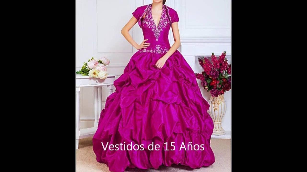 Vestidos largos de 15 años videos 3 de 3 | Arte y diseño | Pinterest ...