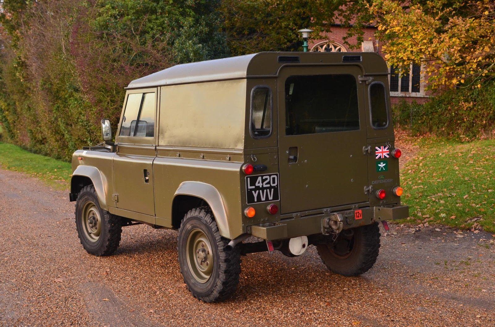 Land Rover Defender 90 Ex Gurkha Army Mod Military Excellent