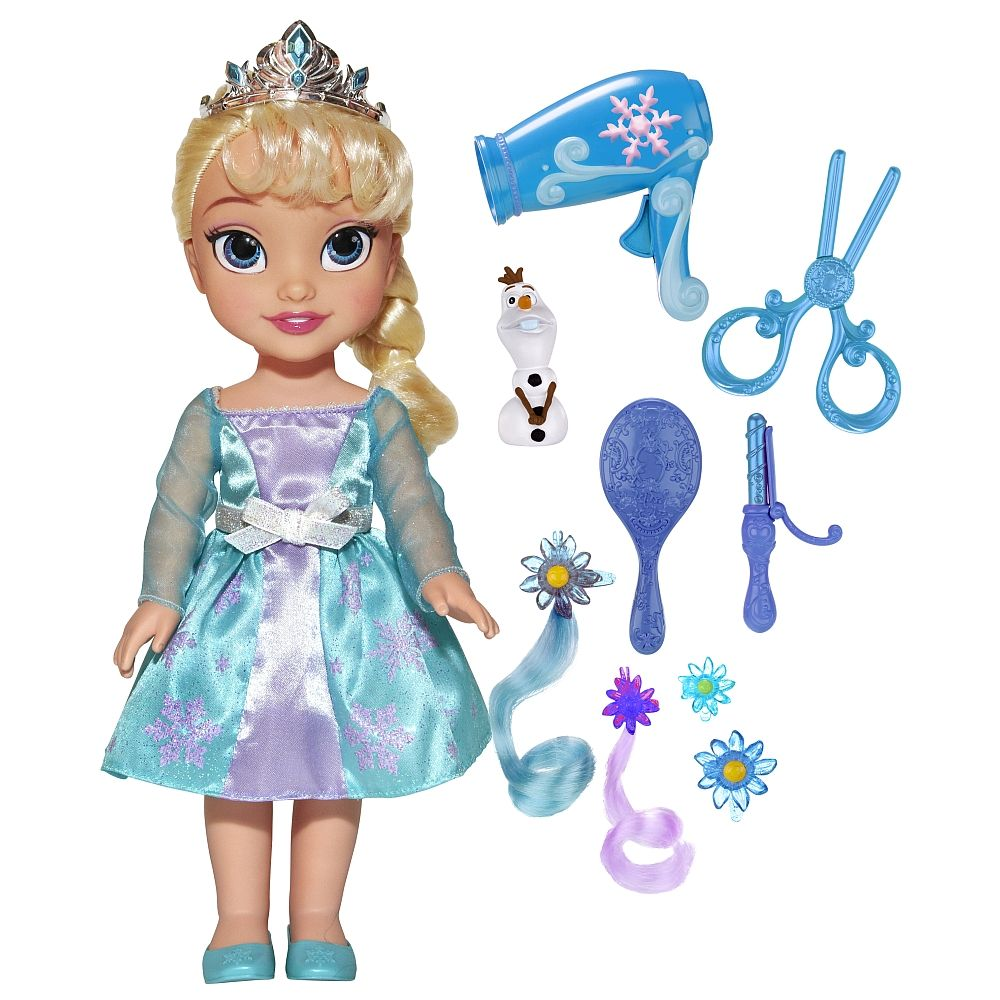 Christmas dress babies r us - Frozen Toddler Elsa Hair Play Tolly Tots Toys R Us