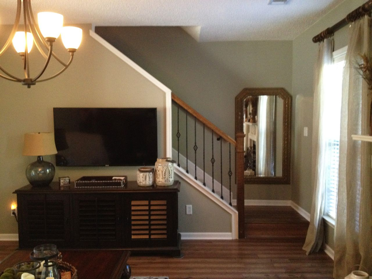 After The Staircase Remodel Done By MC Trim Removal Of Knee Wall Along