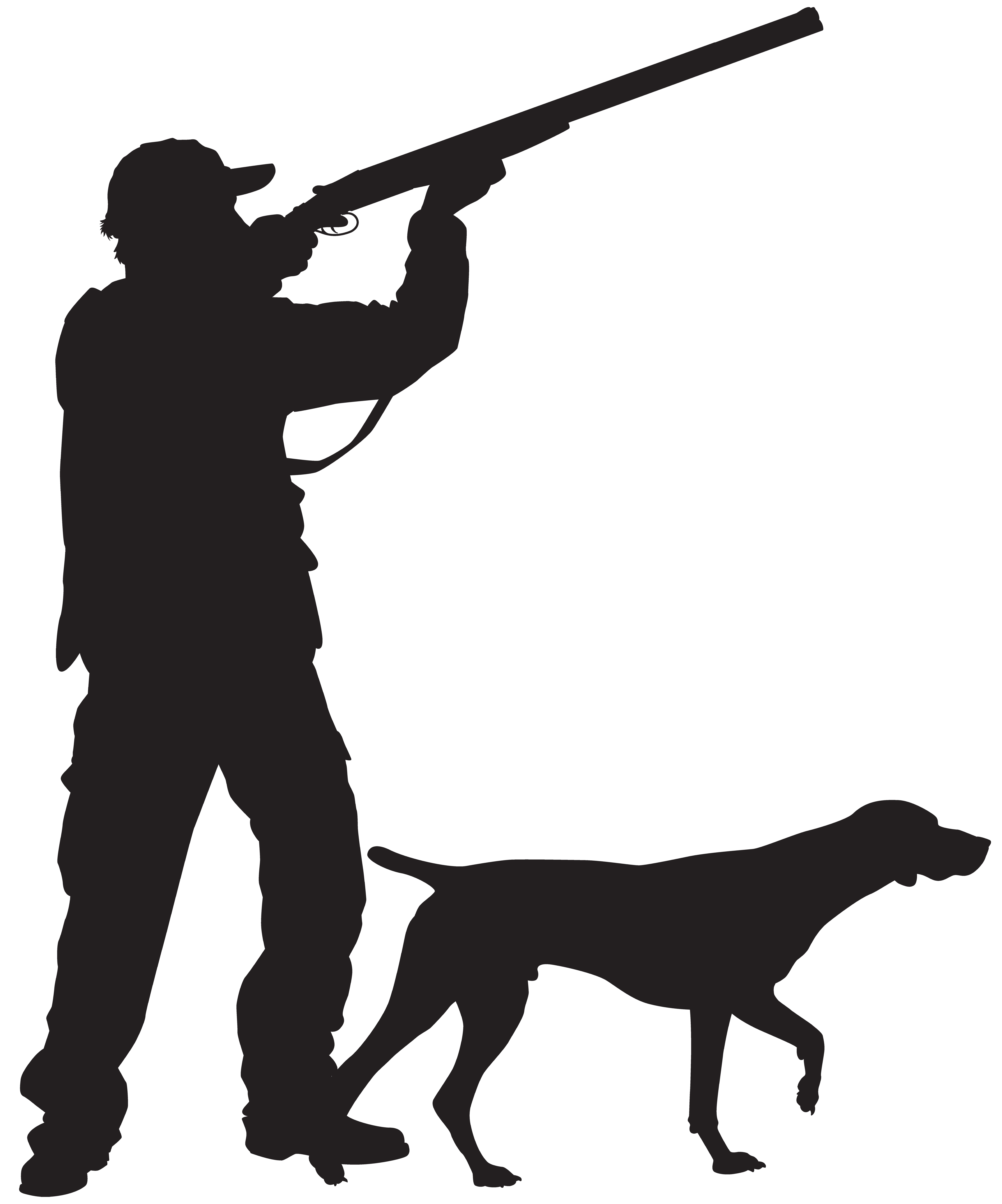 With Hunter Silhouette Dog Hunting Png Free Photo Dog Silhouette Silhouette Hunting Art