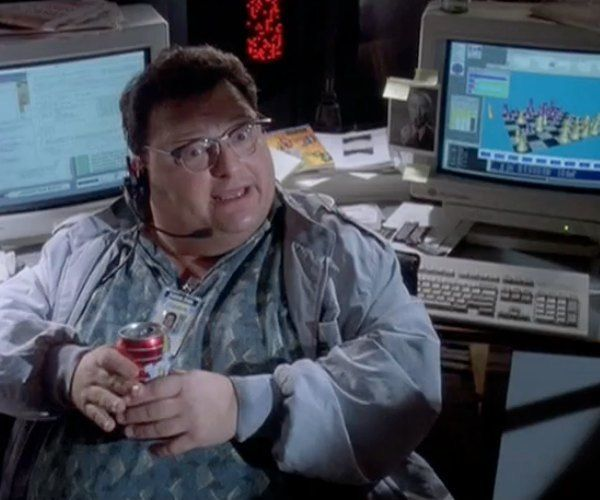 The 15 Most Hilariously Outdated Computer Scenes In Movies Jurassic Park World Jurassic Park Movie Scenes