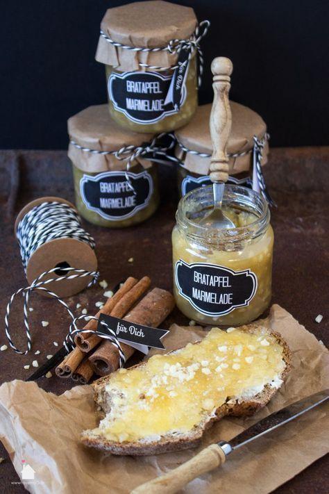 bratapfel marmelade 5 rezepte pinterest marmelade. Black Bedroom Furniture Sets. Home Design Ideas