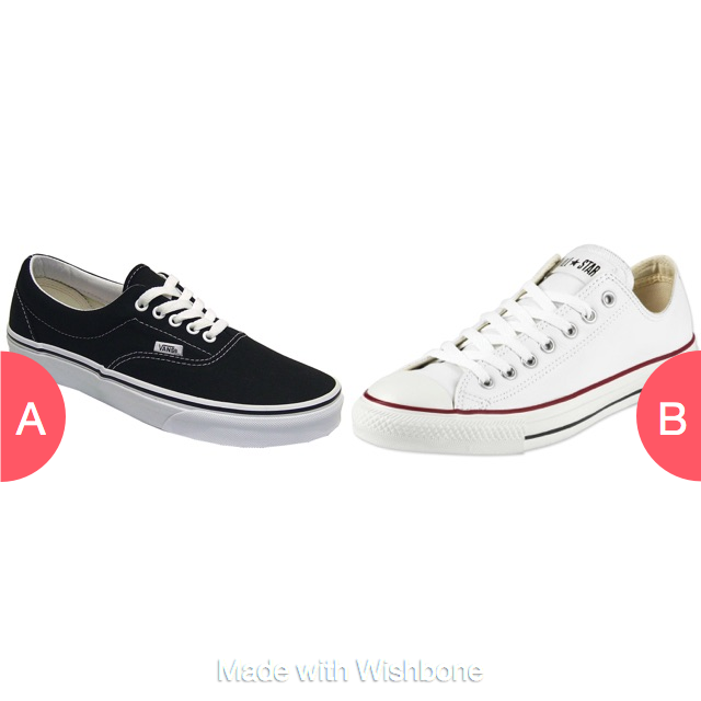 Vans or converes ? Click here to vote @ http://getwishboneapp.com/share/5436627
