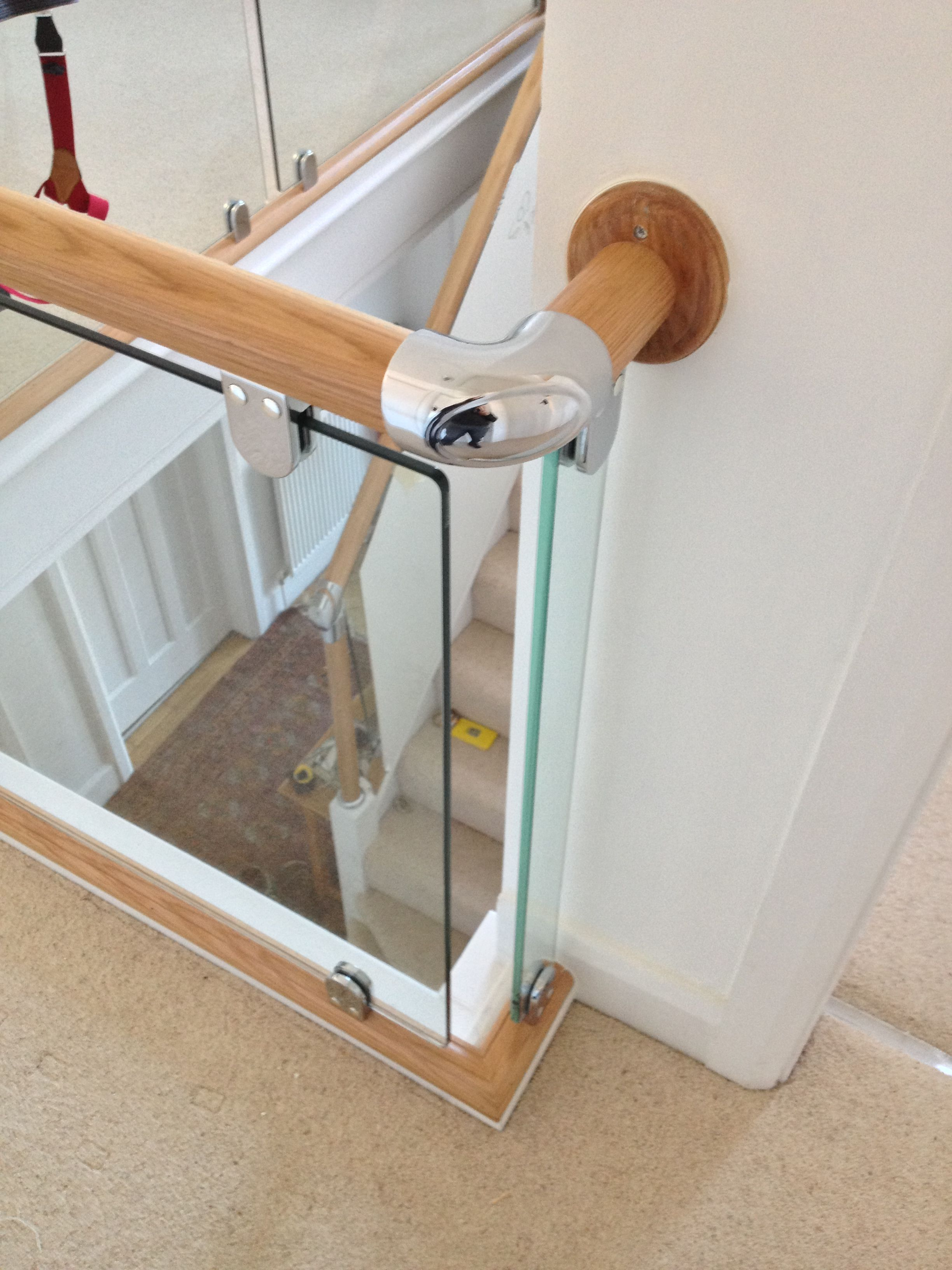 Best Axxys Evolution With Glass Balustrade Glass Stair 400 x 300