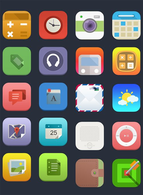 36 Free Flat Icons Sets Icon set, Phone icon, App icon