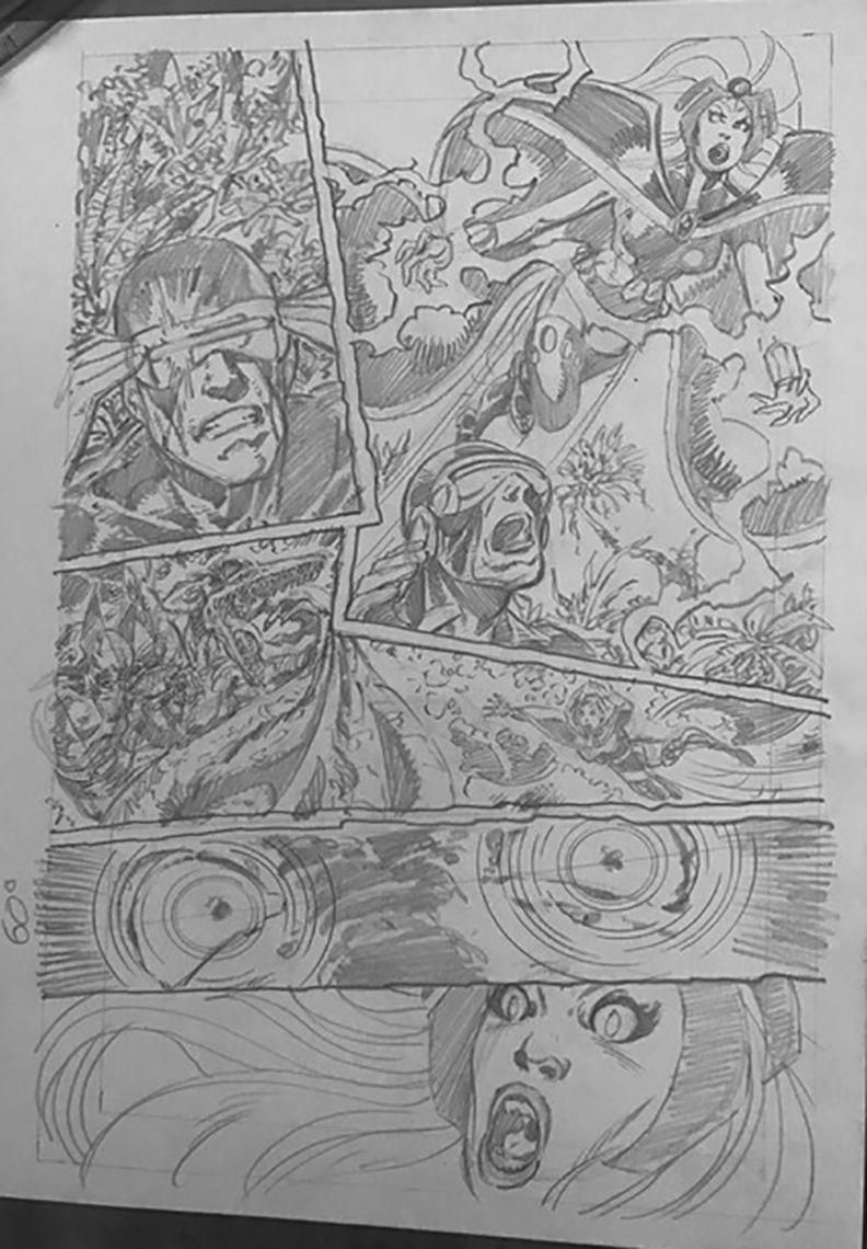 Byrne Robotics X Men Elsewhen In Sequence X Men John Byrne Abstract Artwork