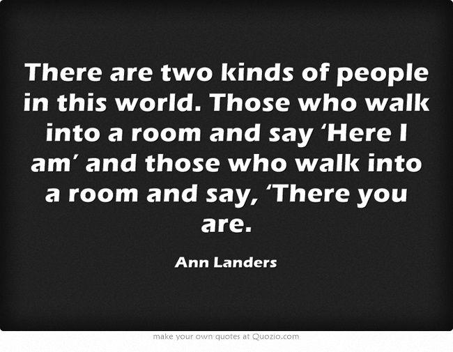 Will not anne landers sucks agree