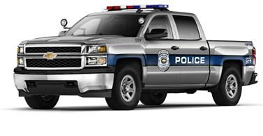 The Chevy Silverado is expected to take on a new role as a police truck! Find out why more agencies are looking to make the switch: http://usat.ly/1krohZG