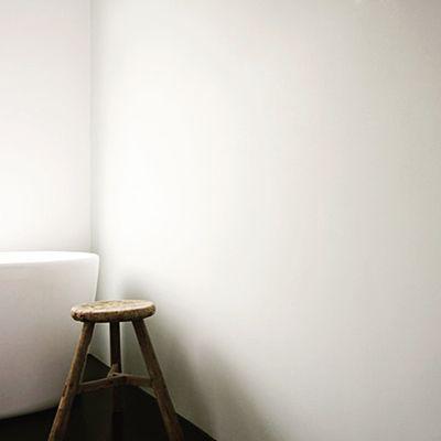 Voor gestuukte muren in de badkamer kies voor een buitenkwaliteit ...
