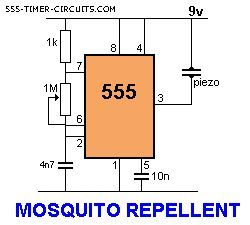 mosquito repeller circuit electronic pinterest rh pinterest com