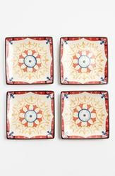 Hostess gift idea: Square Ceramic Plates (Set of 4)  $28.00