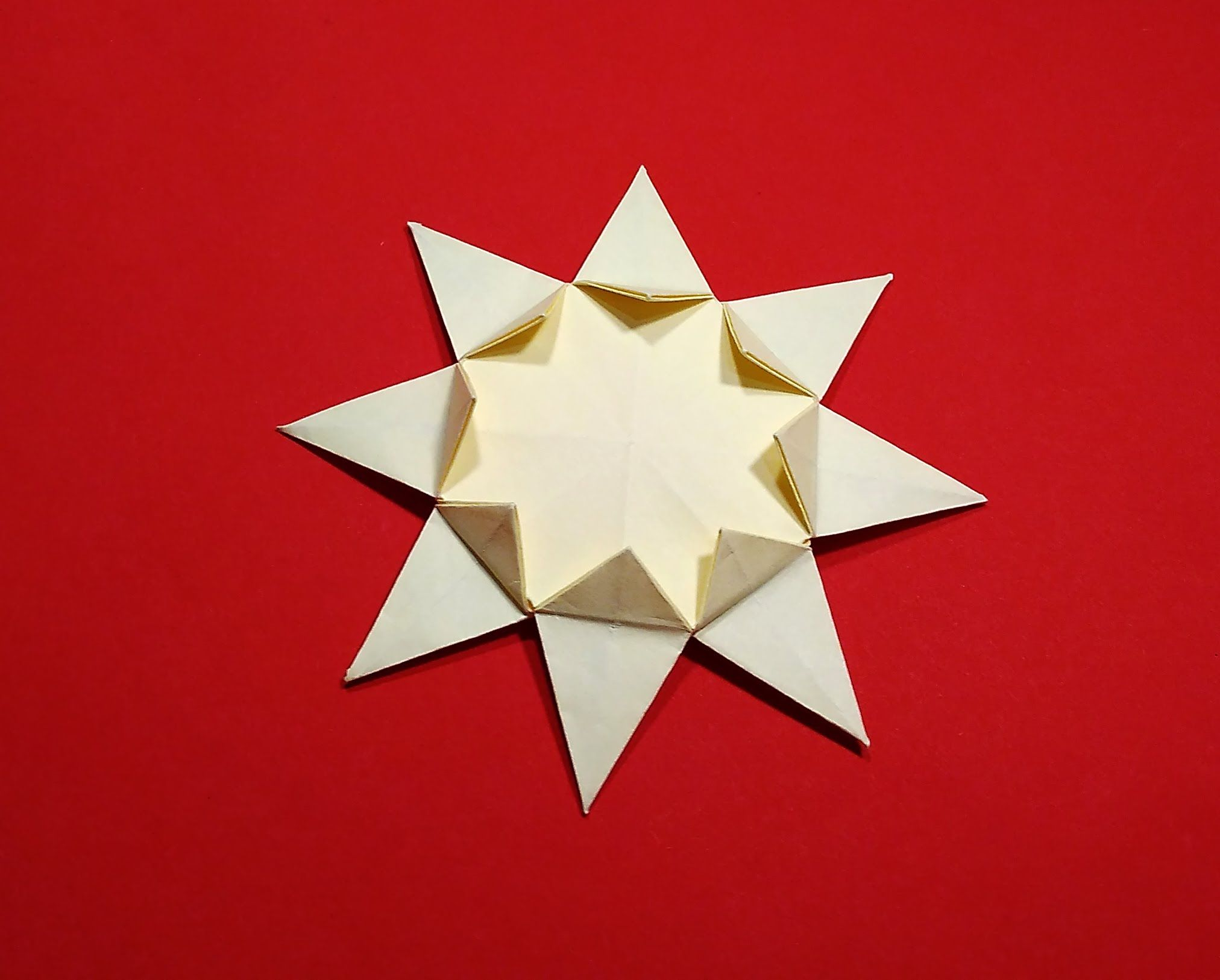 Easy Origami Sun 8 Pointed Origami Star Ideas For Christmas And