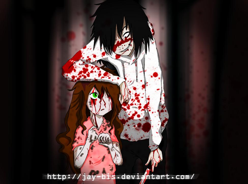 Creepypasta Killer Jeff X Sally