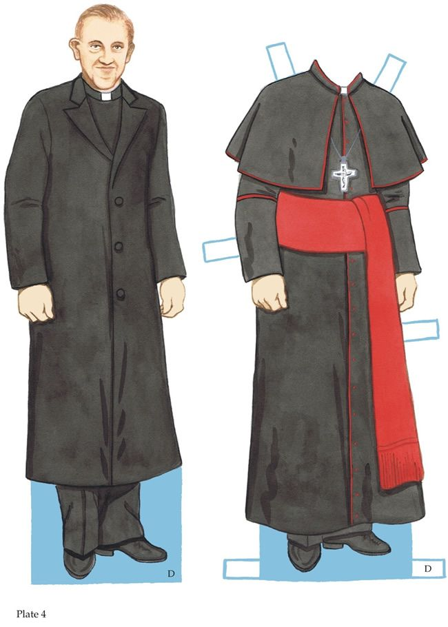 POPE FRANCIS PAPER DOLLS  2 of 4 Welcome to Dover Publications