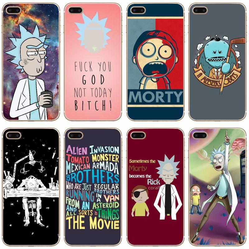 rick et morty coque iphone 7 plus