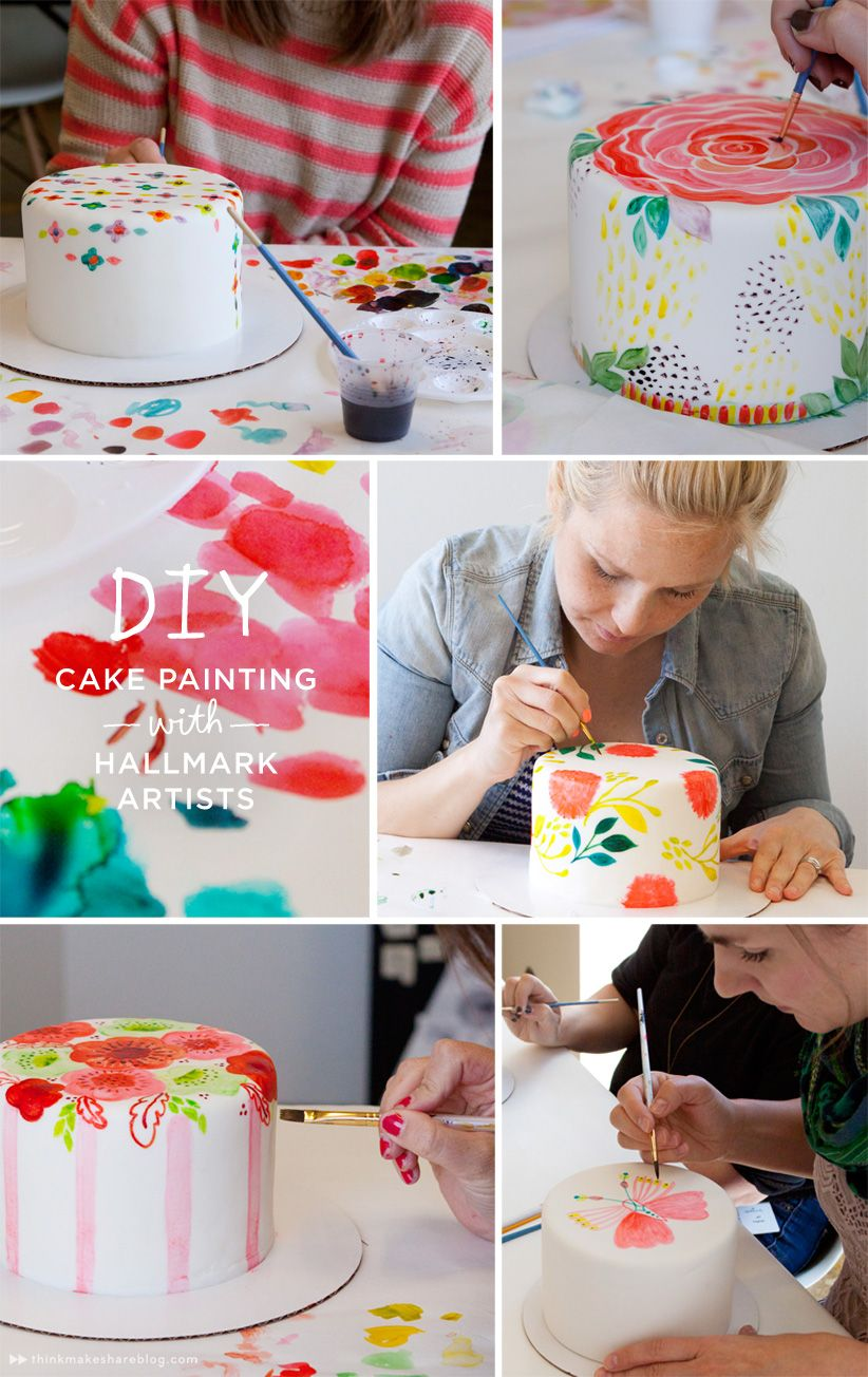 How to make cake decorations with your own hands