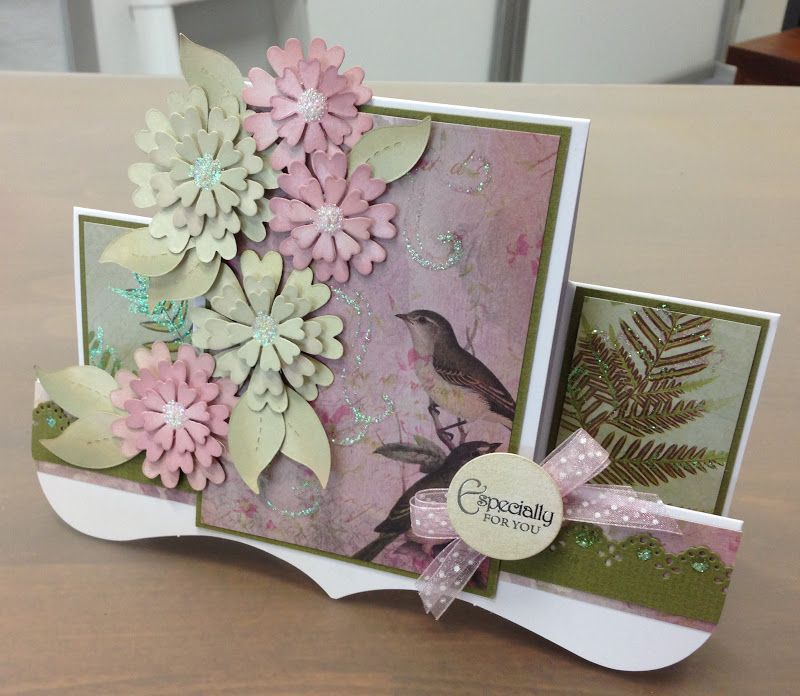 Superb Qvc Card Making Ideas Part - 2: Crafting Ideas From Sizzix UK: A QVC Outing! Center Step CardsFlower ...