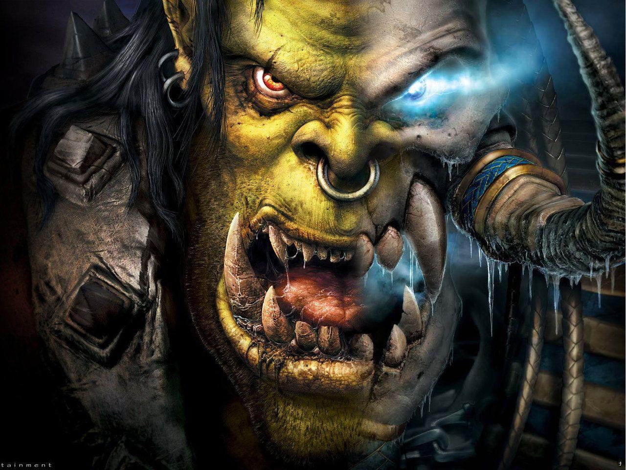 Warcraft Orc Vs Human By Mega1hs Warcraft Orc Warcraft Art