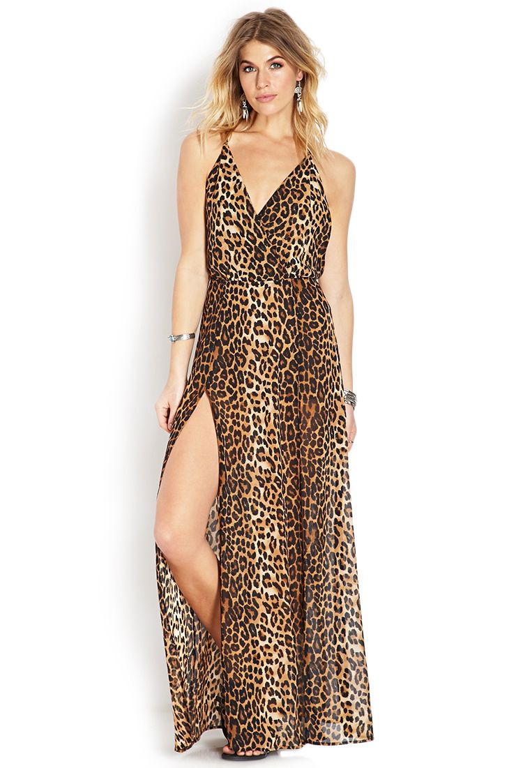 b71035fe96 Fierce Feline Maxi Dress