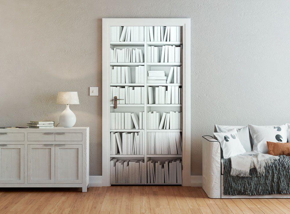 ohpopsi Bibliothèque moderne minimaliste et ajusté pour porte Motif - Oeil Pour Porte D Entree