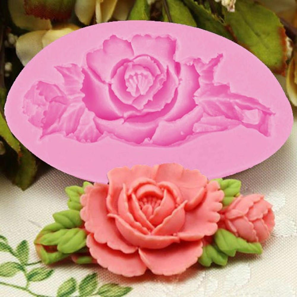 Rose Flower 3d Cake Silicone Mold Fondant Cake Decorating Etsy Silicone Molds Baking Diy Cake Decorating Cake Molds Silicone