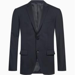 Calvin Klein Taillierter Blazer aus Stretch-Wolle 46 Calvin Klein