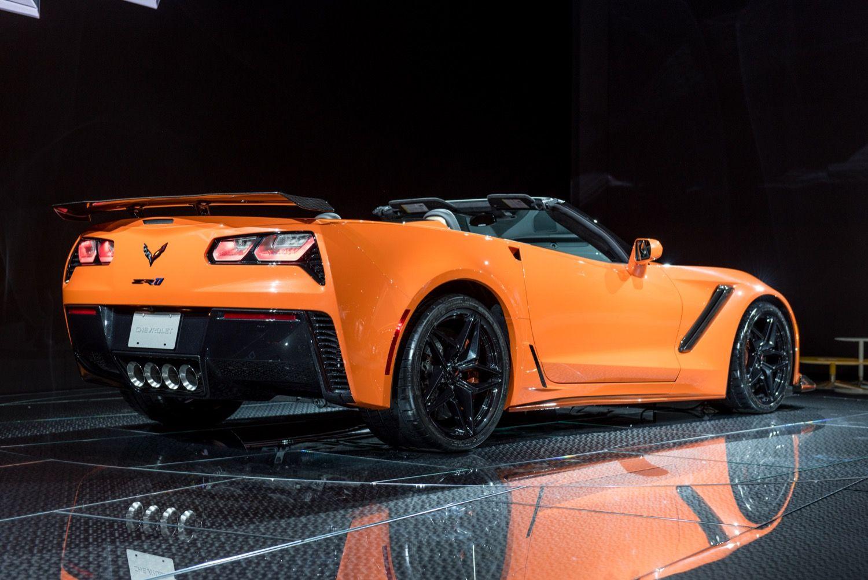 Including The Massive High Wing Rear Spoiler Corvette Corvette Zr1 Chevy Corvette