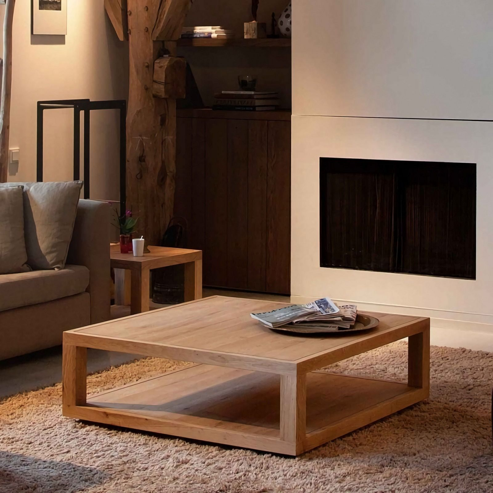 Best 20 Simple Wooden Furniture For Rustic Living Room Ideas Https Dsgndcr Com Home Inter Wooden Living Room Furniture Design Wooden Square Living Room Table