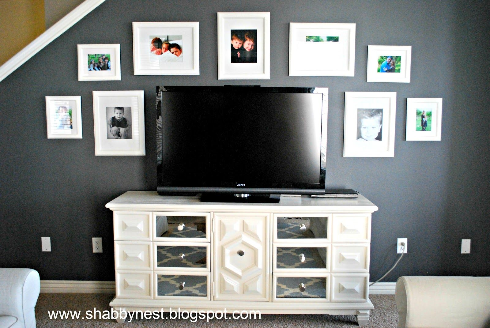 The shabby nest: this is an old dresser re do that is so cool