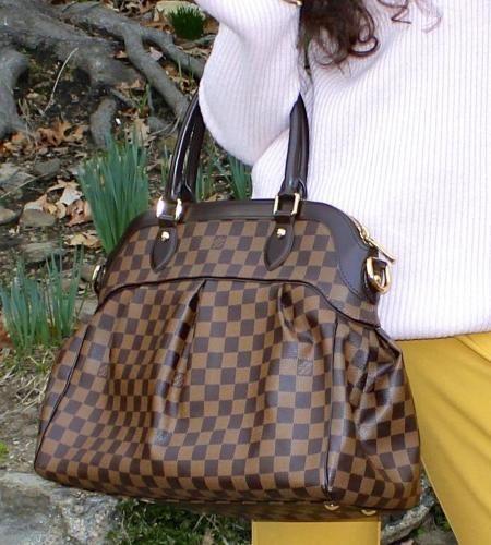 LOUIS VUITTON DAMIER EBENE TREVI GM BAG Perfect  LouisVuitton Damier Ebene  Trevi Gm Bag.  FashionBlogger  thestylecontour  LookAve 43f6f7d40ed07