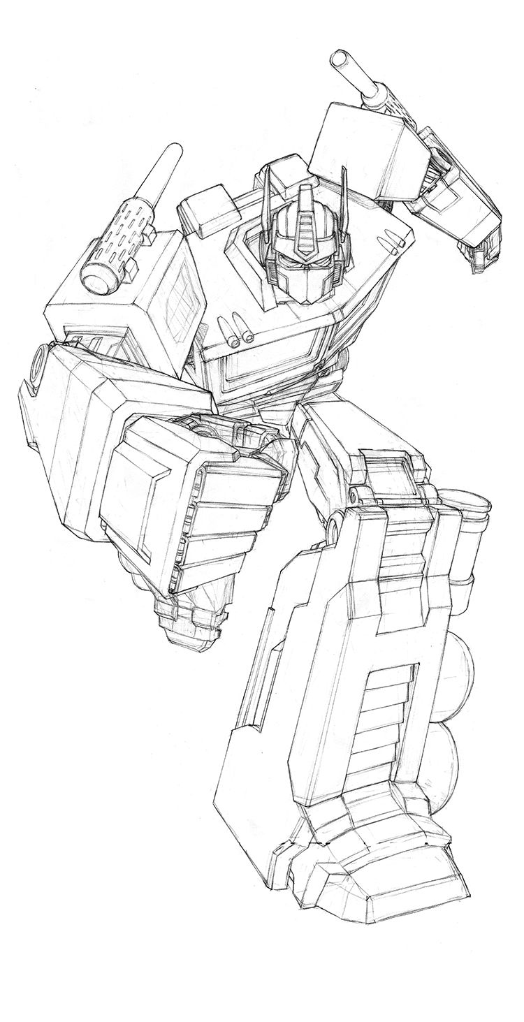 cool transformers optimus prime coloring pages colouring pages