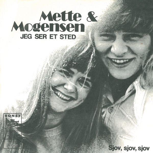 "Singlen ""Jeg ser et sted"" med Mette & Mogensen. Jeg har sangen som mp3 - jeg leder efter en single med omslag."