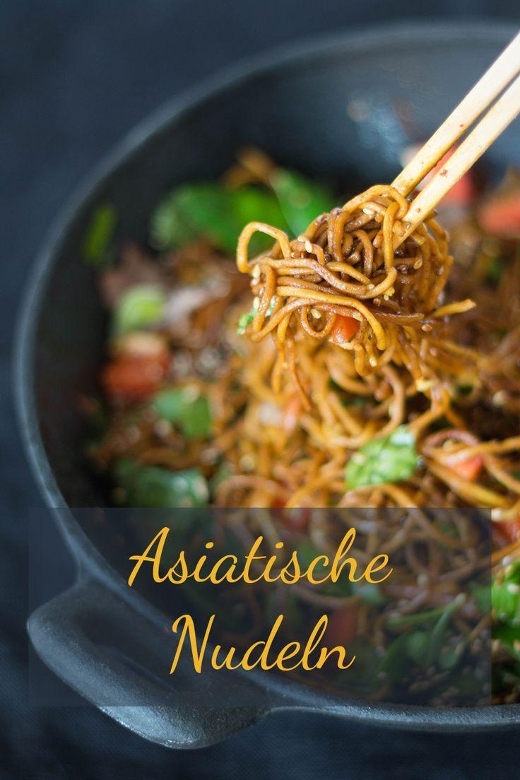 Photo of Asiatische Nudeln mit Frühlingsgemüse und Rindfleisch | ars textura