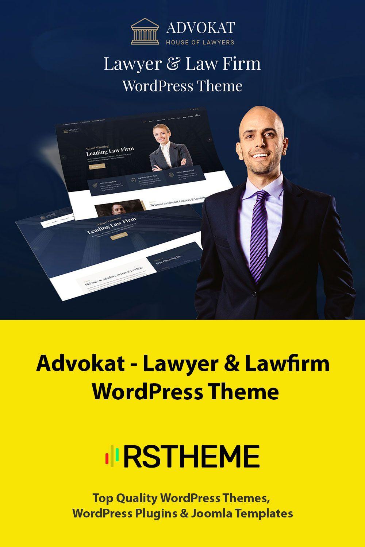 Advokat Lawyer Law Firm WordPress Theme WordPress Theme Lawyer Legal Advisor