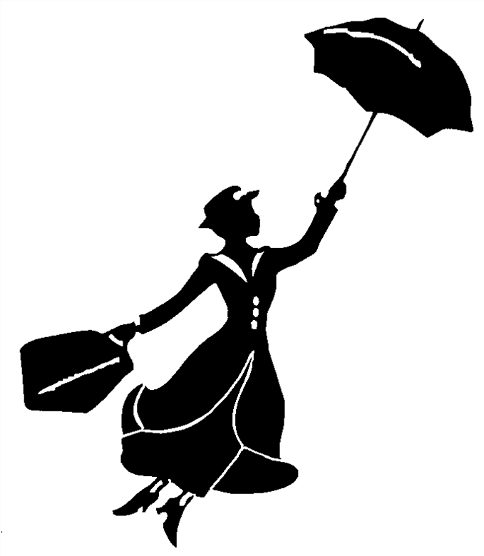 Mary Poppins Chimney Sweep Silhouette Images Gallery For > Mary ...