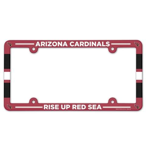 Sports Mem, Cards & Fan Shop Fan Apparel & Souvenirs Arizona Cardinals NFL Football Plastic License Plate NEW