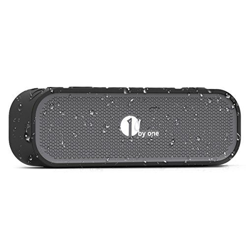 Special Offers - 1byone Portable Bluetooth Speaker with Enhanced Bass  In & Outdoor IPX5 Waterproof & Built-in Mic Black - In stock & Free Shipping. You can save more money! Check It (July 27 2016 at 06:13AM) >> http://wbluetoothspeaker.net/1byone-portable-bluetooth-speaker-with-enhanced-bass-in-outdoor-ipx5-waterproof-built-in-mic-black/