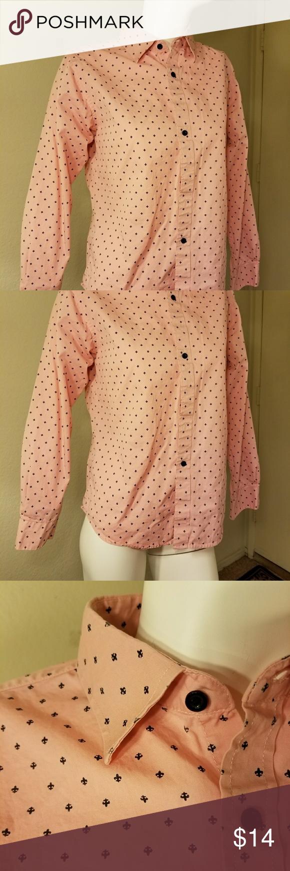 Pink dress shirt for women  BUNDLE AND SAVEPink dress shirt