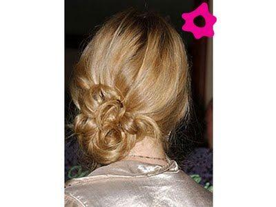 Peinados de moda: Moños de lado 2012