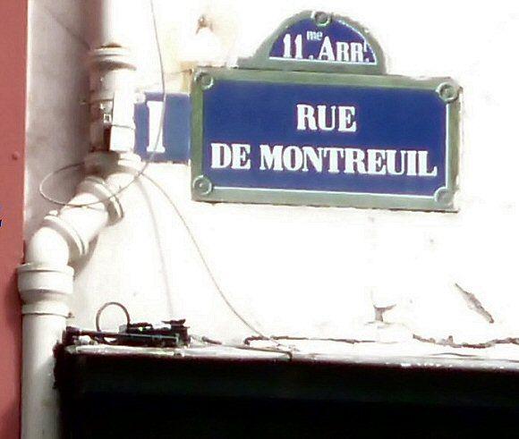 Era Mairie De Montreuil Montreuil: La Rue De Montreuil (Paris 75011)