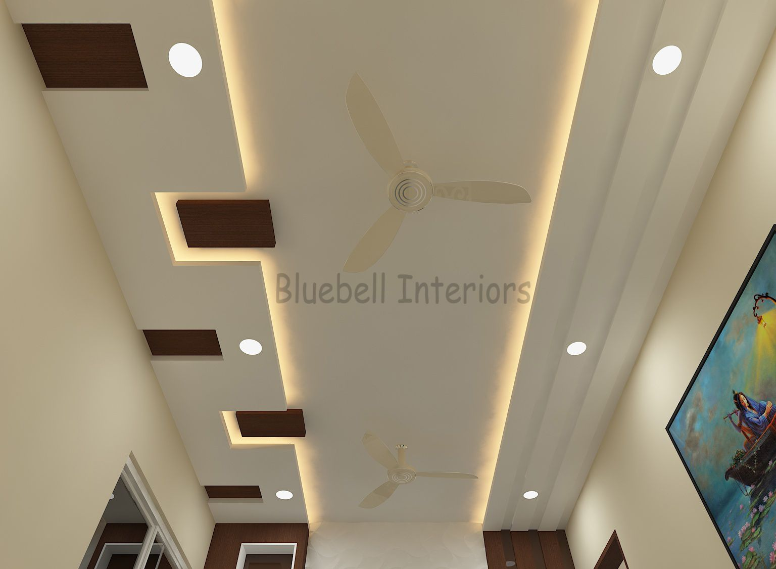 Drawing Room Ceiling Wooden Squares In Ceiling Ceiling De